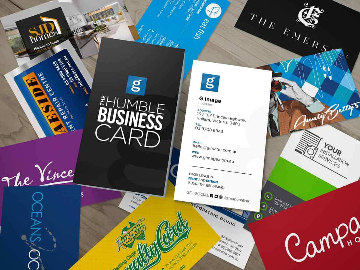 The Humble Business Card